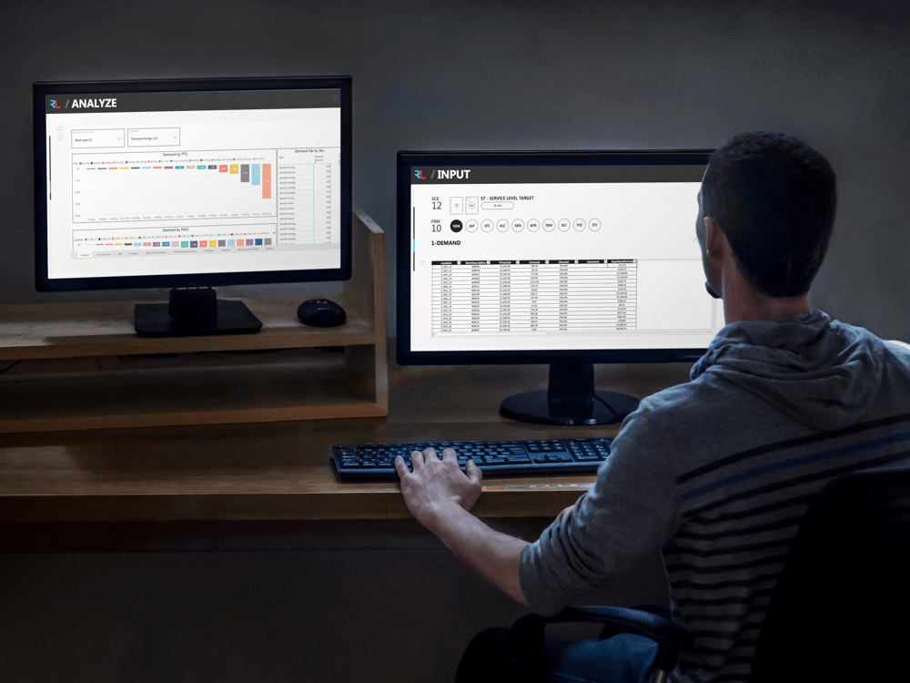 EO+ Computer Mock Double Monitors